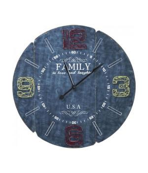 Часы настенные Family Blue
