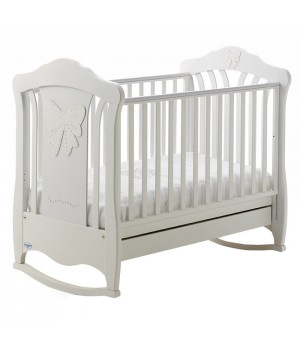 Кроватка детская Jullia White