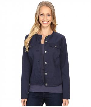 Куртка женская синий джинс