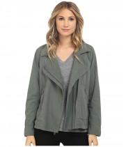 Куртка женская зеленая хлопок