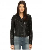 Куртка женская черная косуха