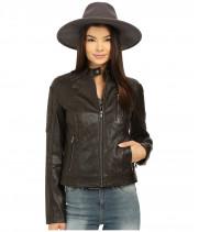 Куртка женская коричневая авиатор