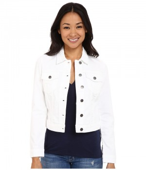 Куртка женская джинсовая белая