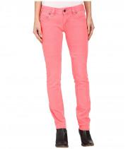 Джинсы женские розового цвета