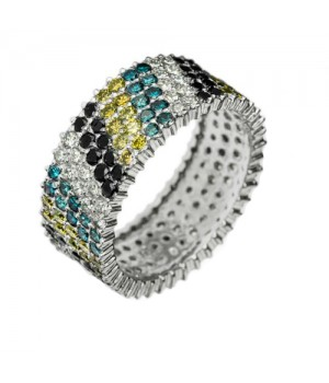 Кольцо золотое с бриллиантами Mosaic