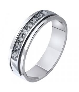 Кольцо золотое с бриллиантами Нежность