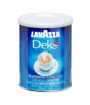 Кофе молотый Lavazza Dek