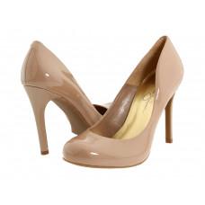 Туфли женские бежевый лак