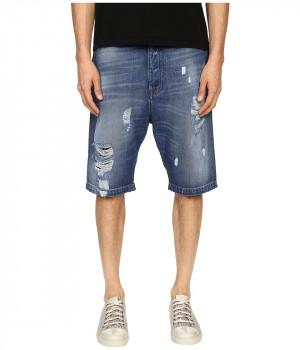 Шорты мужские синий джинс