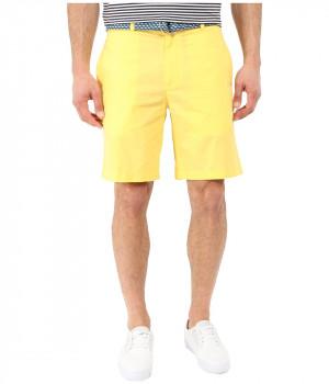 Шорты мужские желтого цвета