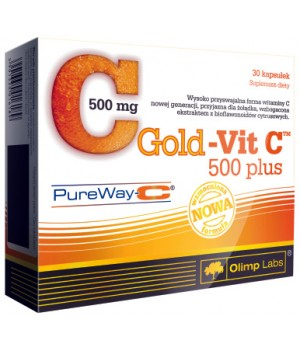 Витамины Gold Vit C 500 plus