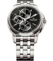 Часы мужские Maurice Lacroix Black Silver